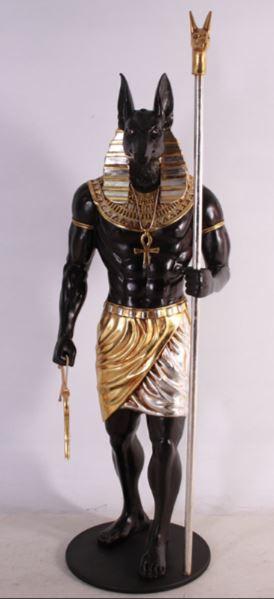 location décor statue égyptienne