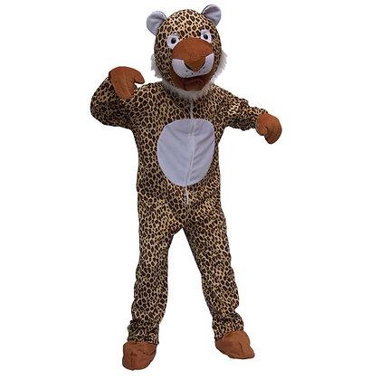 Déguisement de léopard à tête souple