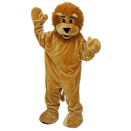 Mascotte de lion à tête souple