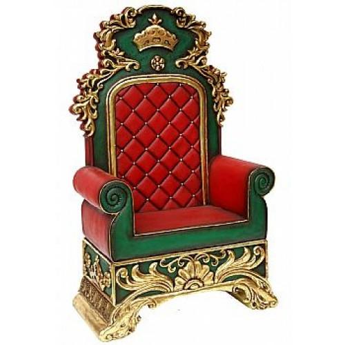 location trône de Père Noël avant