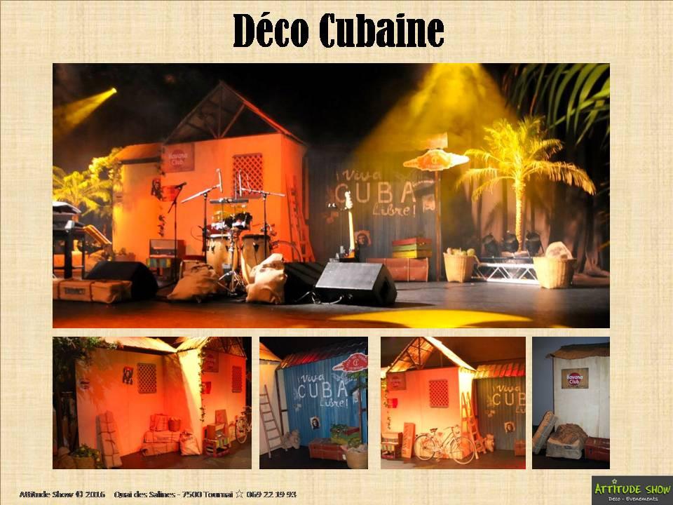 location décor maison cubaine