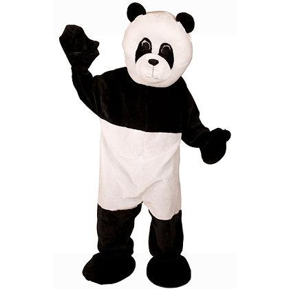 Mascotte de panda à tête souple