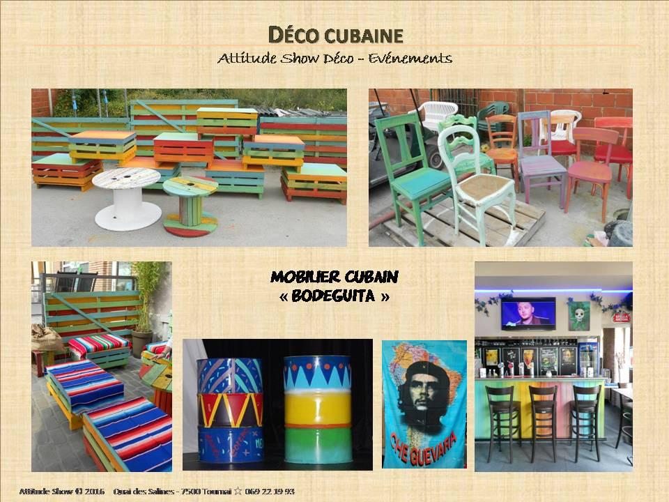 location décor mobilier cubain bodeguita