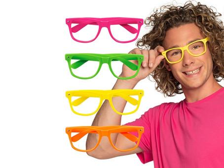"""Paire de lunettes colorée """"Party"""""""