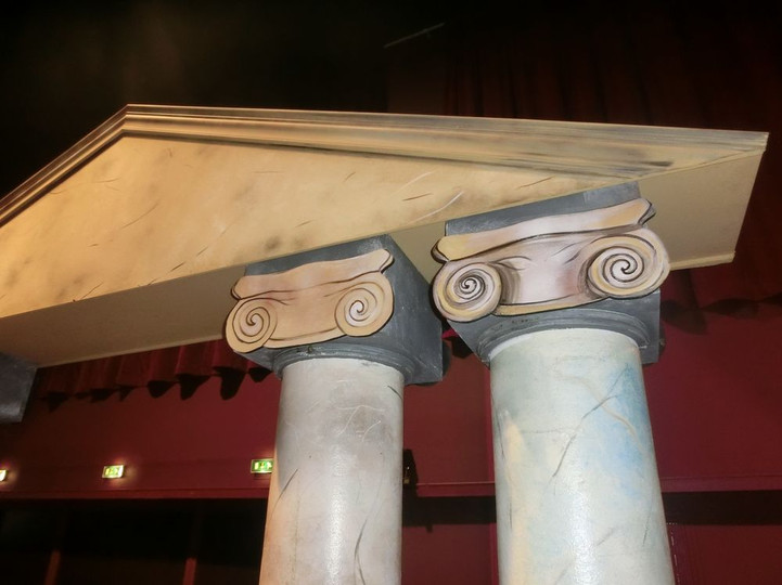 location décor entrée de capitole égypti