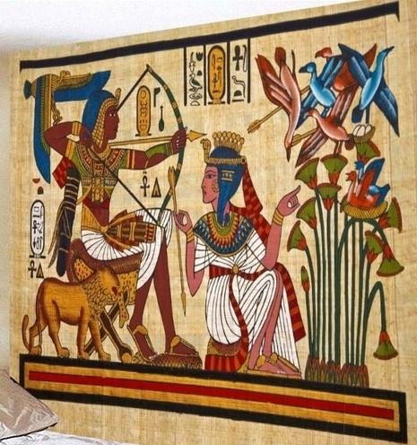 location tapisserie égyptienne