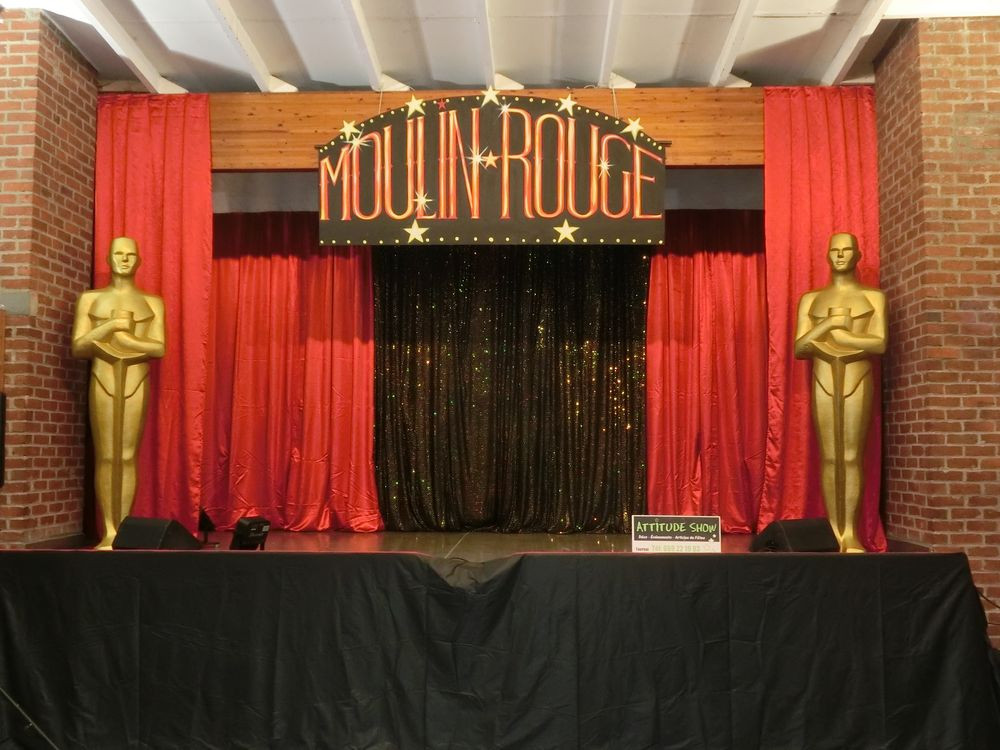 location fond de scène Moulin Rouge