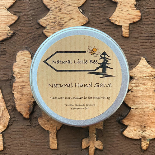 natural little bee natural hand salve all natural and high quality soothes skin