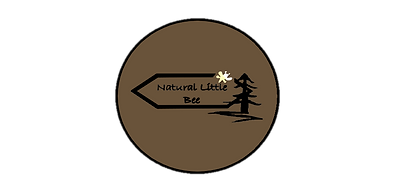 natural little bee logo