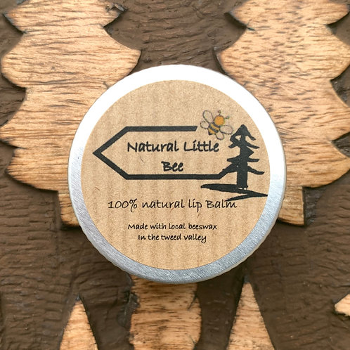 natural little bee natural lip balm made with all natural ingredients