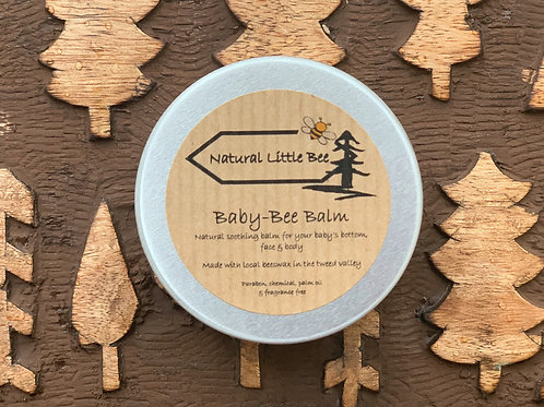 natural little bee baby bee balm allergen free perfect for sensitive babies skin and nappy rash