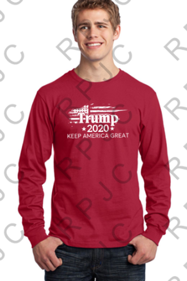Trump 2020 T-Shirt Long Sleeve