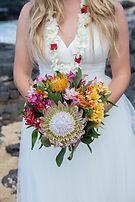 Tropical Hawaiian Wedding Bouquet