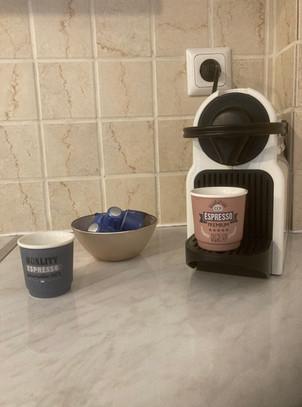 Nespresso at Elegant suite