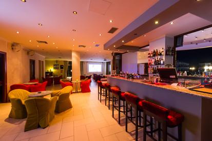 Lounge bar interior