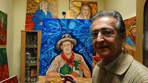 Hector Carlos Reis, en los talleres de ¡Uyayay!