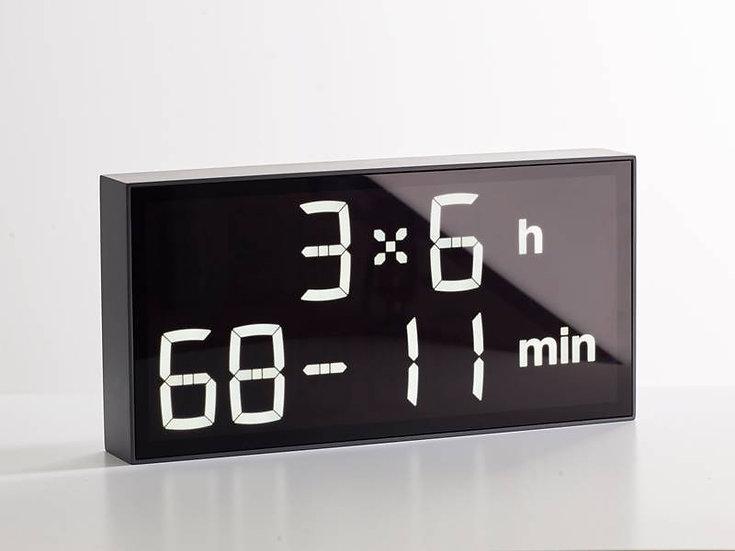 Albert Clock Concrete Grey front
