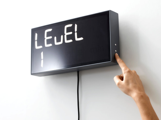Albert Clock digital mathematic clock