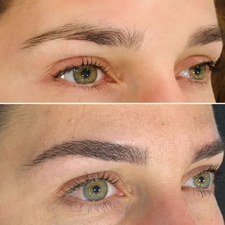 Microblading Feathering Tattoo First Session