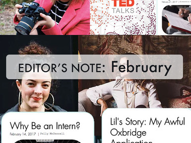 Editor's Note - February Edition