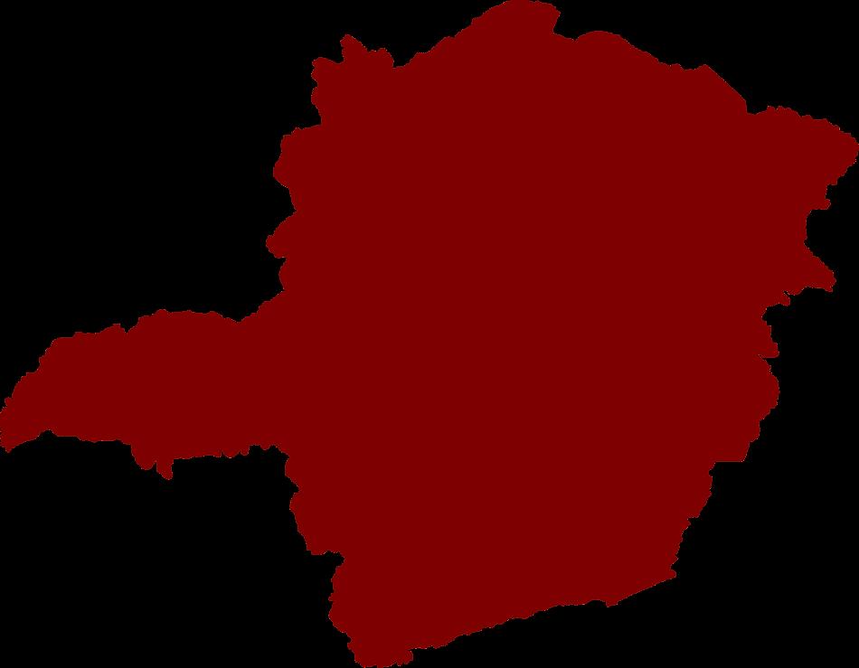 Mapa estado de Minas Gerais