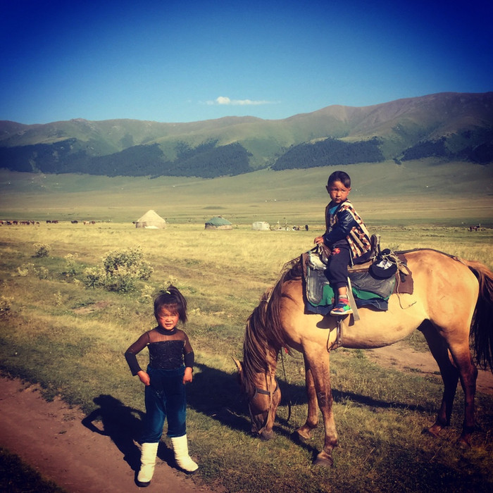 Juillet 2017. Almaty. Kazakhstan. Âme nomade.