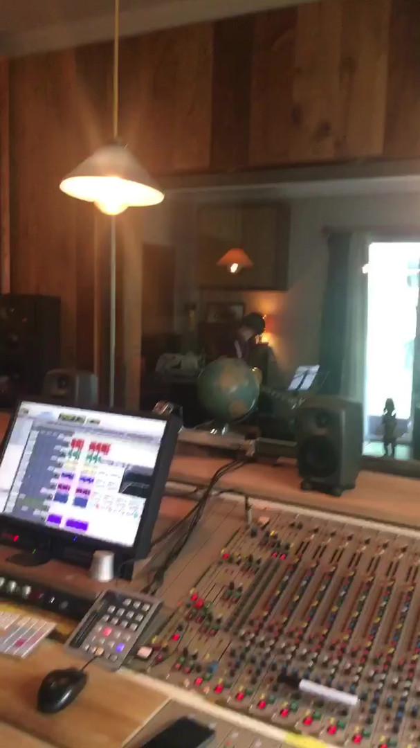 Yas Khaleghi at Granny's House Recording Studio