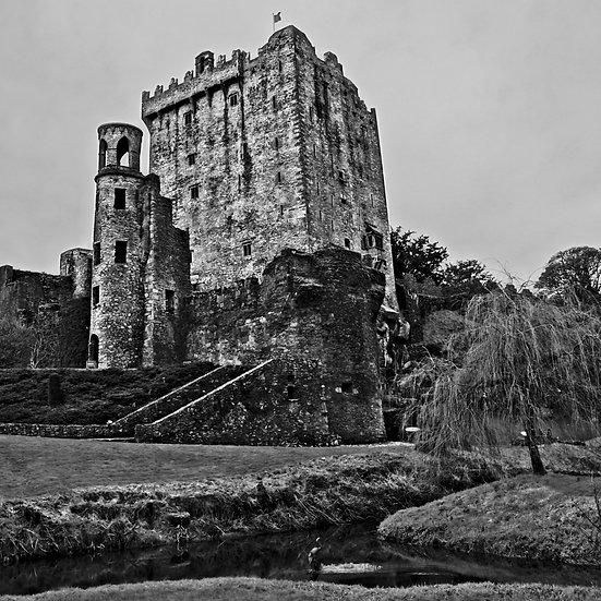 Blarney Castle B/W