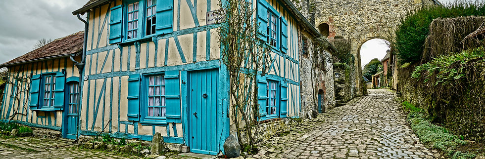 Blue House, France