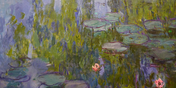 Monet's Lillypads (made to order)