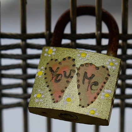 You and Me Locks (made to order)