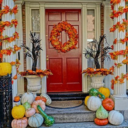 Autumn Door (made to order)