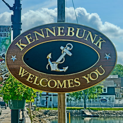 Welcome to Kennebunk (made to order)
