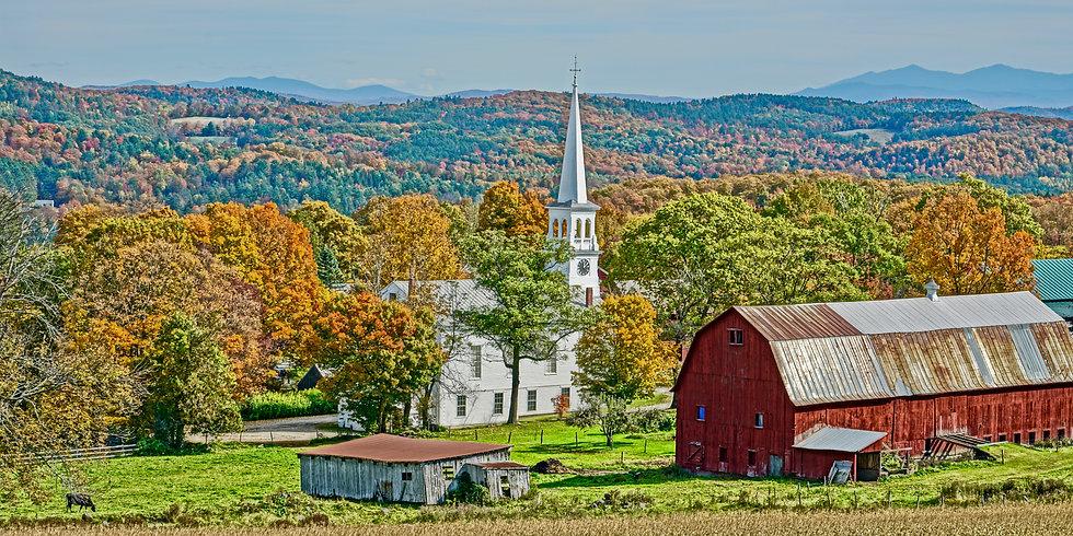 Church In Foliage