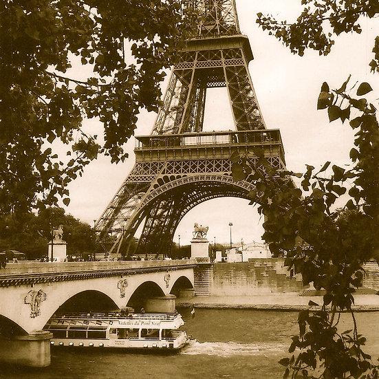 Paris in Sepia