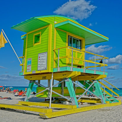 South Beach Lifeguard (made to order)