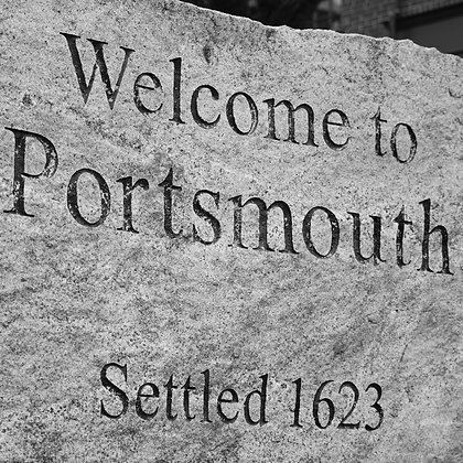 Welcome to Portsmouth(made to order)