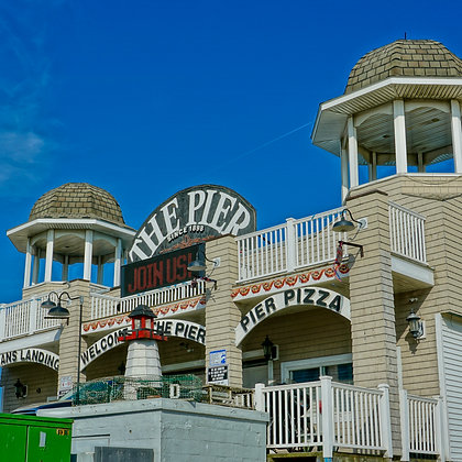 Old Orchard Beach Pier (made to order)