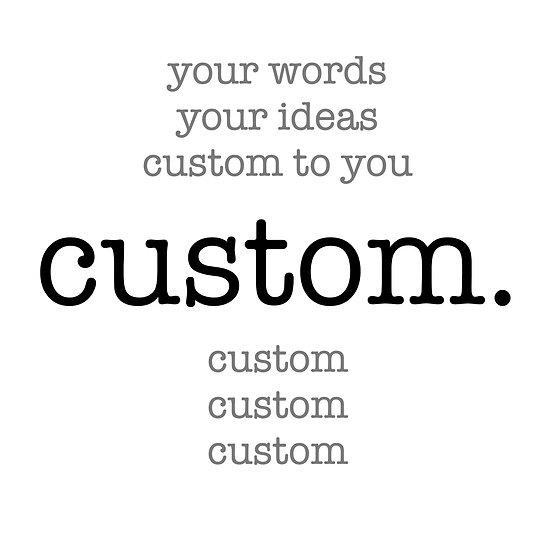 CustomWhite Coaster