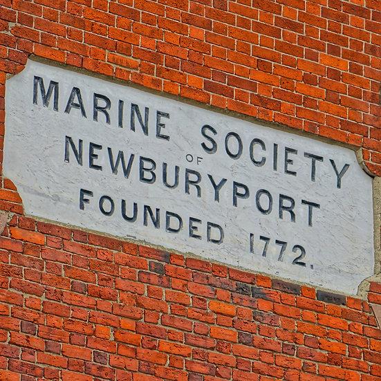 Newburyport Historic Sign (made to order)
