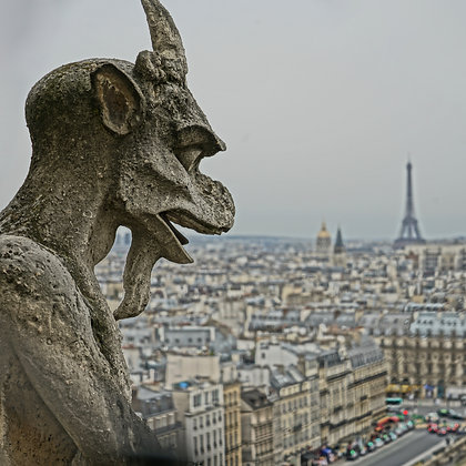 Notre Dame Gargoyle 2