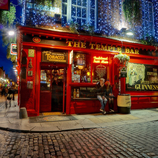 Temple Bar in Color