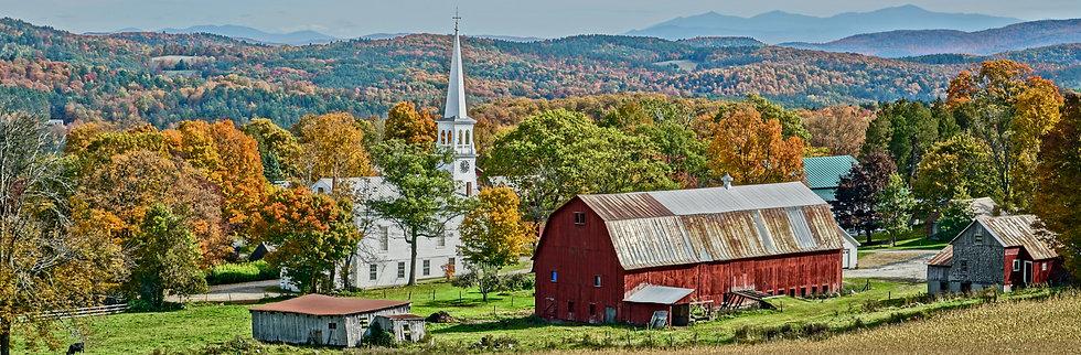 Vermont in Foliage