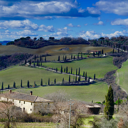 Tuscan Winding Road (made to order)
