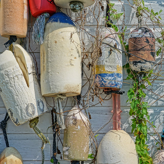 Buoys on the Wall