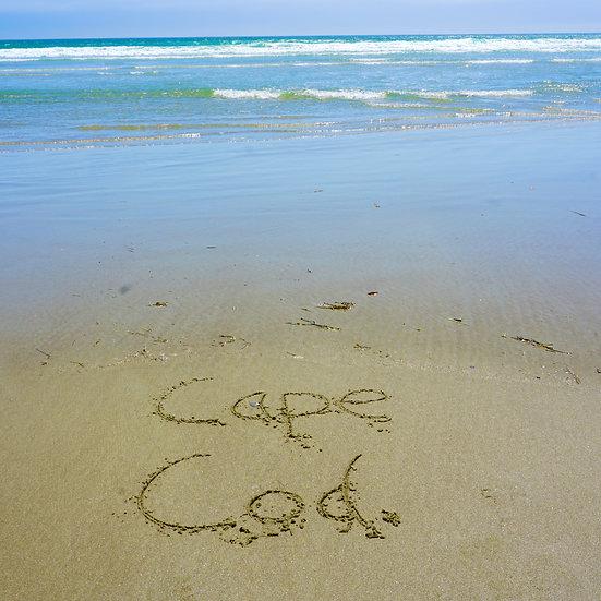 Cape Cod in Sand