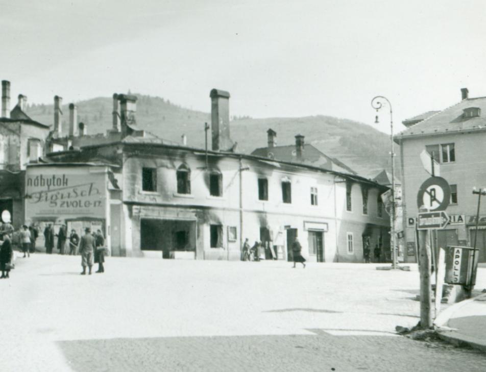 Penzion Barbakan a okolie po vojne