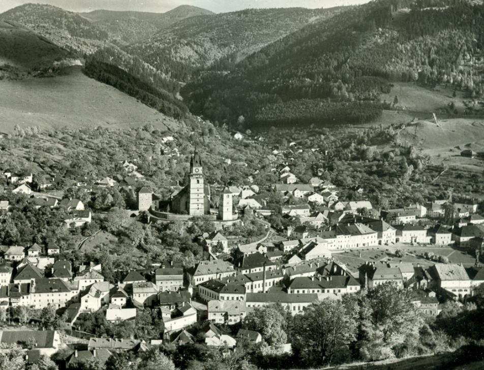 Kremnica okolo roku 1960