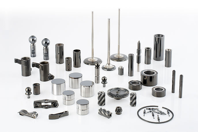 Several parts processed at TS Thailand with PVD Coating