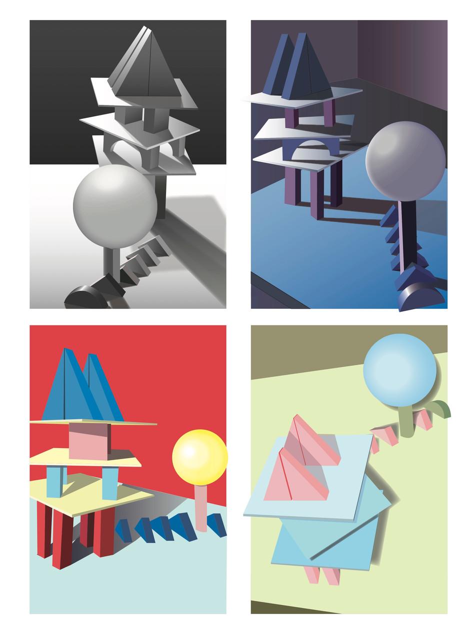 Color Exploration /// 色彩练习